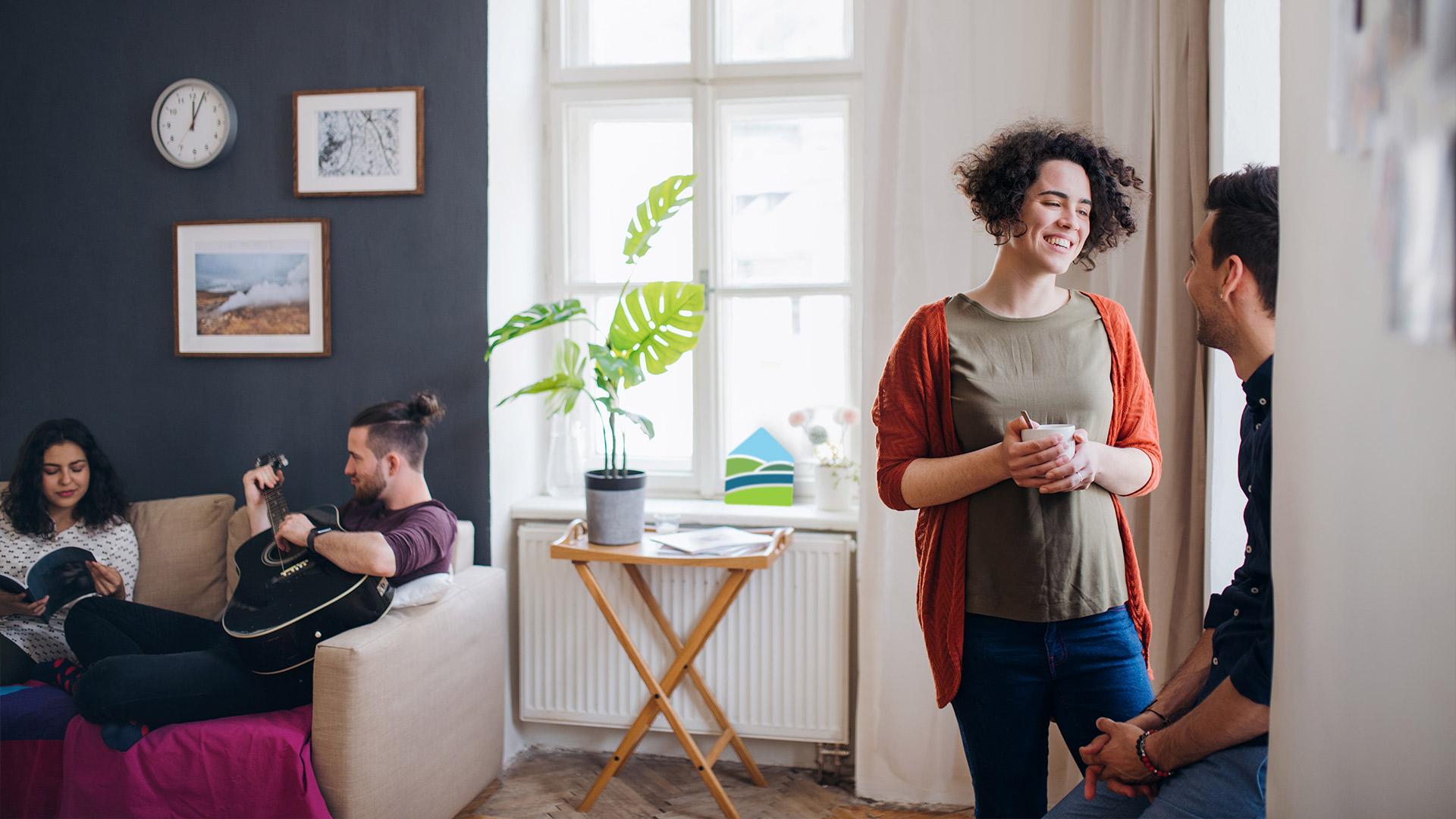 Unsere Aufgabe: günstiger Wohnraum